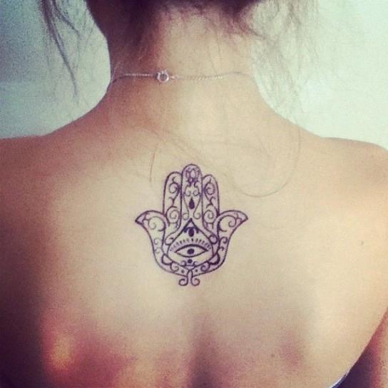 Conosciuto LA MANO DI FATIMA | Cultura Dei Tatuaggi LM47